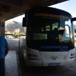 モスタルからサラエボへのバス移動ー2017年ヨーロッパ周遊1人旅その36