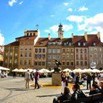 LOTビジネスクラスでワルシャワに移動して旧市街観光ーポーランド・ドイツ旅行その3